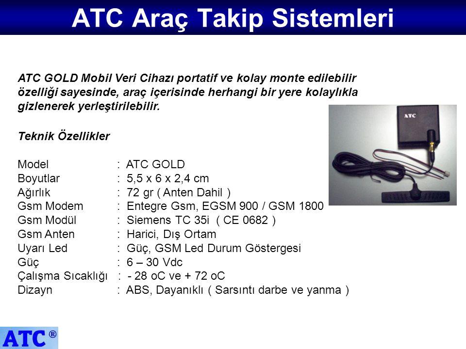 ATC Araç Takip Sistemleri