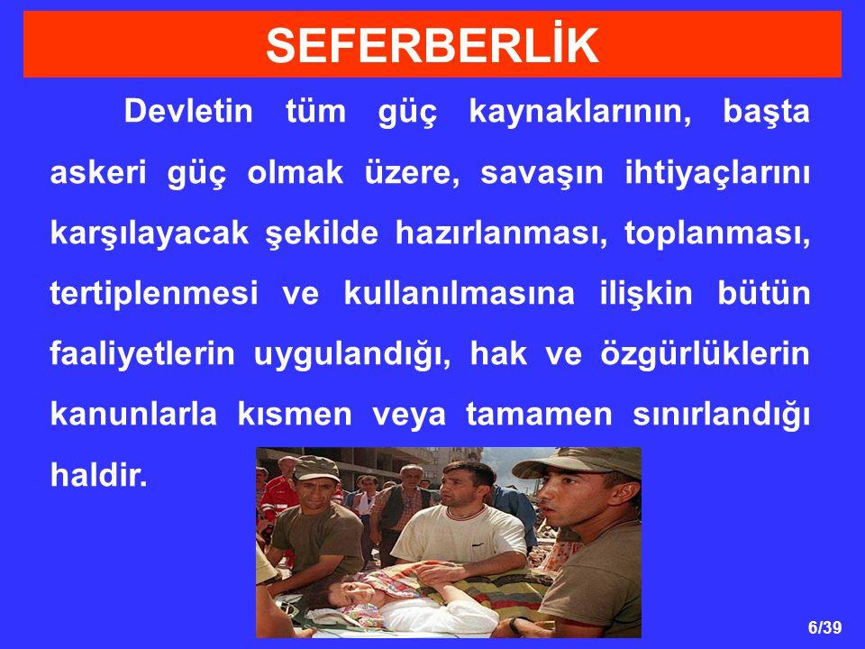 SEFERBERLİK