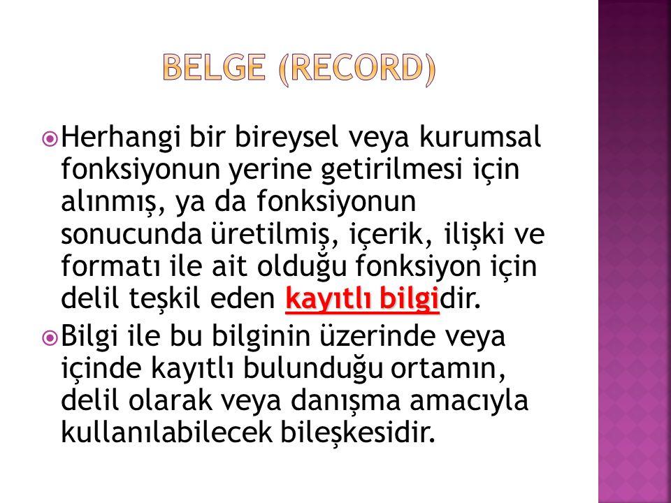 BELGE (record)