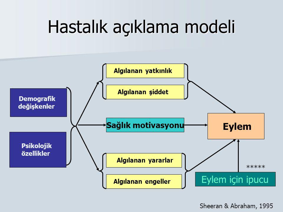 Hastalık açıklama modeli