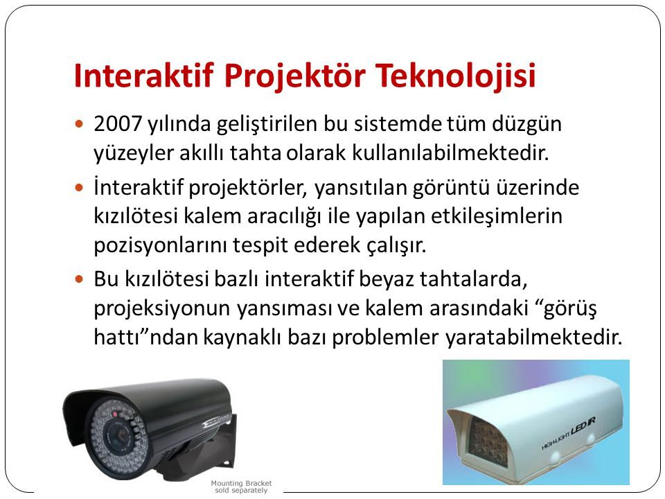 Interaktif Projektör Teknolojisi