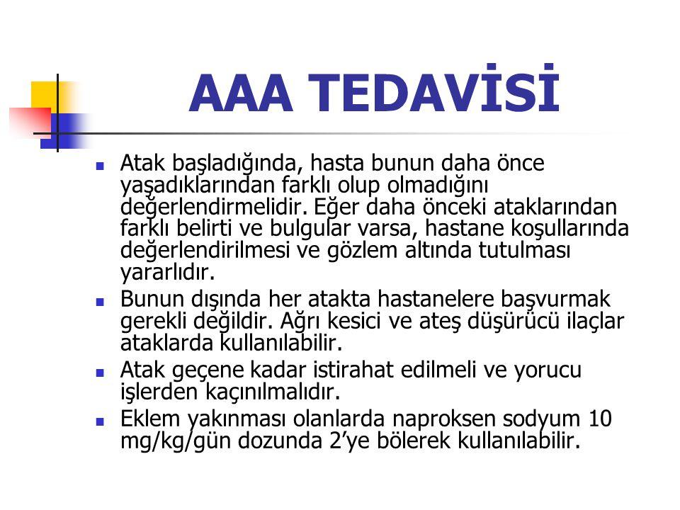 AAA TEDAVİSİ