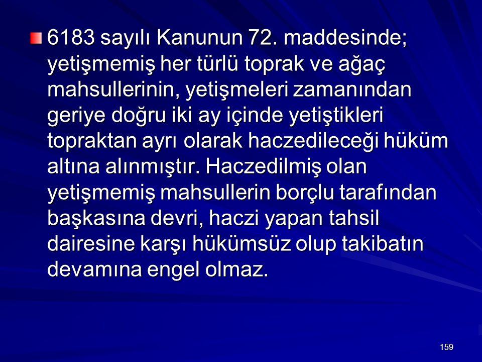 6183 sayılı Kanunun 72.