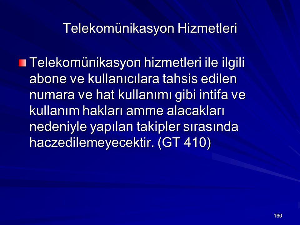 Telekomünikasyon Hizmetleri