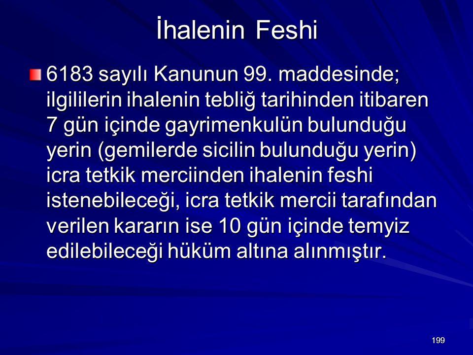 İhalenin Feshi