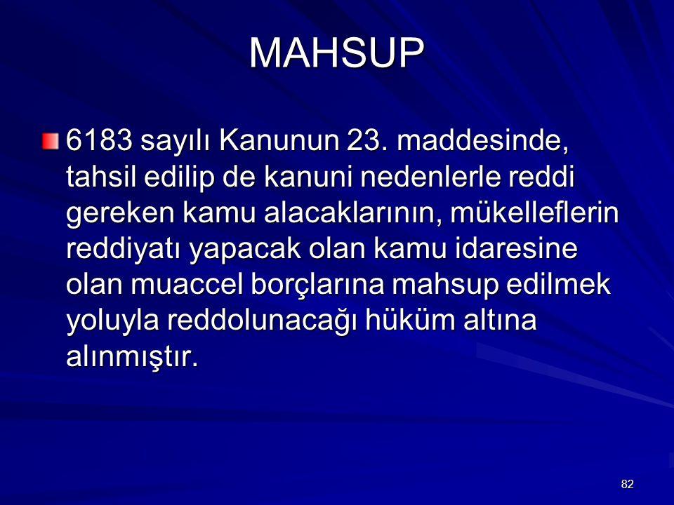 MAHSUP