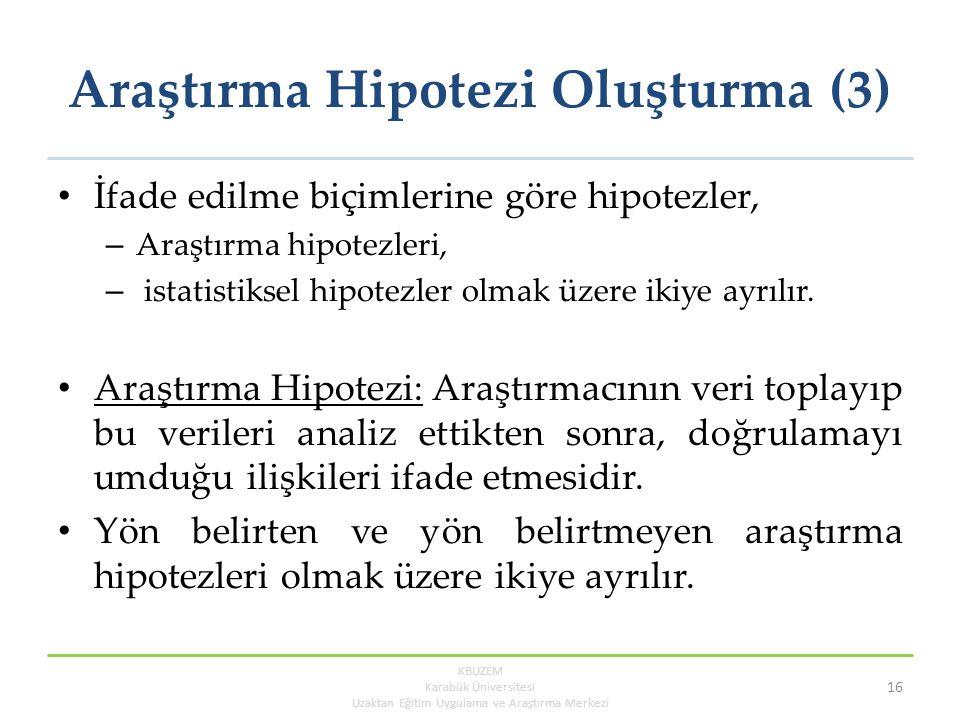 Araştırma Hipotezi Oluşturma (3)
