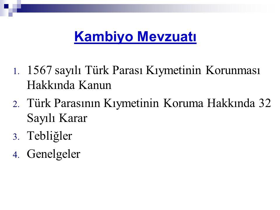 1567 sayılı Türk Parası Kıymetinin Korunması Hakkında Kanun