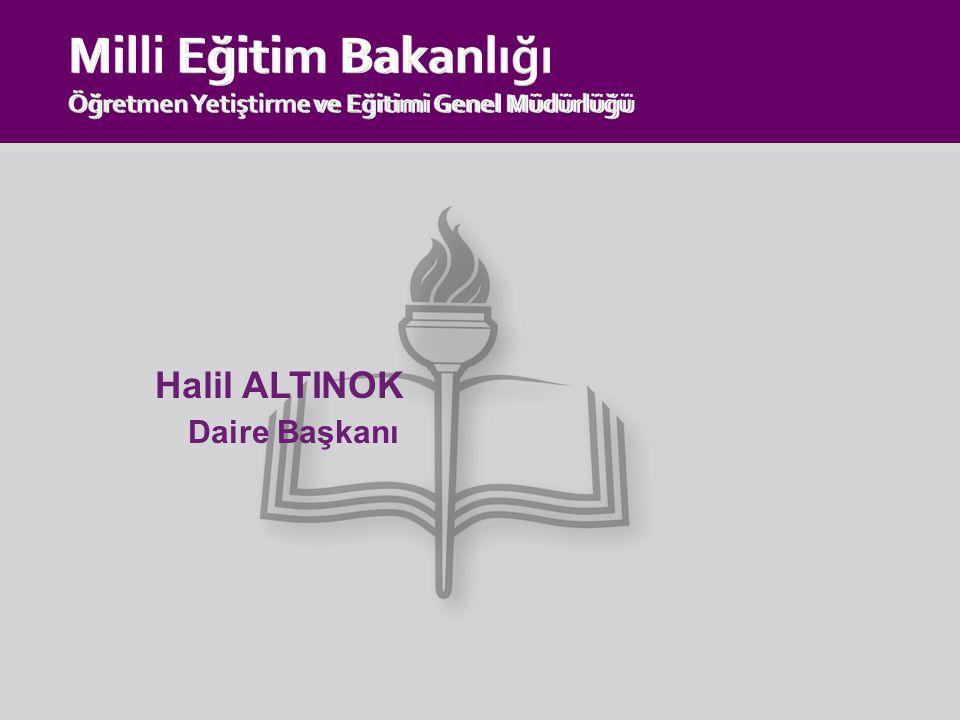 Milli Eğitim Bakanlığı Öğretmen Yetiştirme ve Eğitimi Genel Müdürlüğü