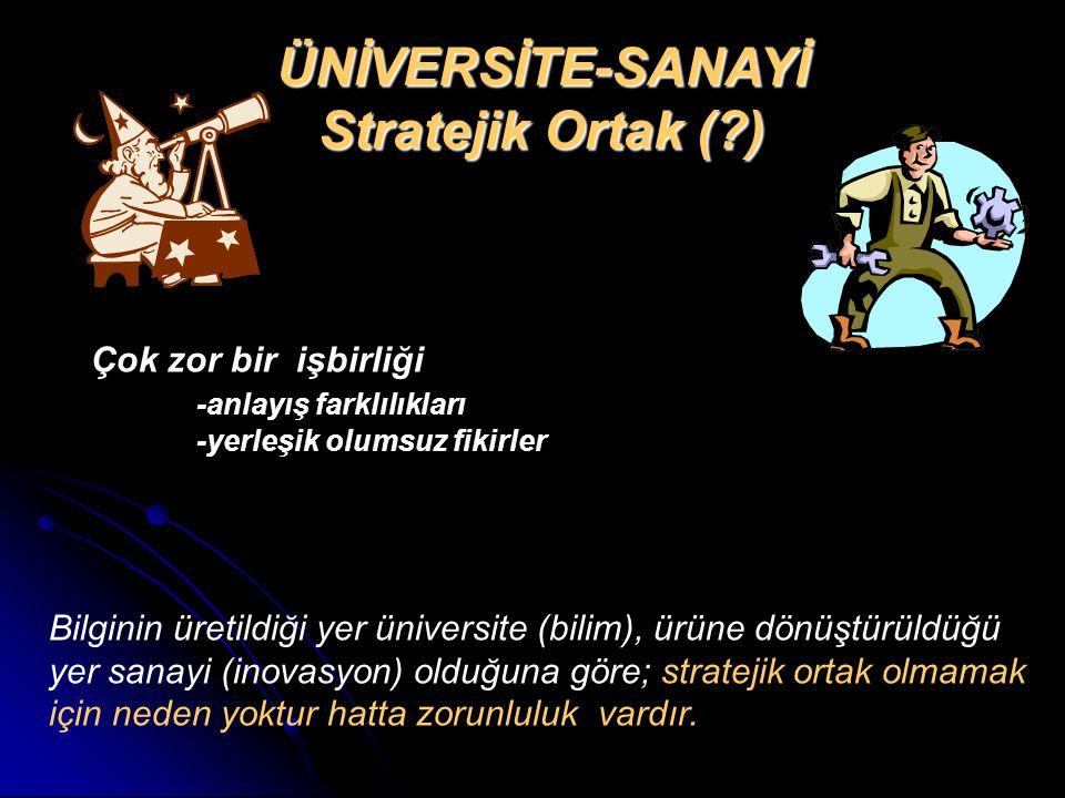 ÜNİVERSİTE-SANAYİ Stratejik Ortak ( )