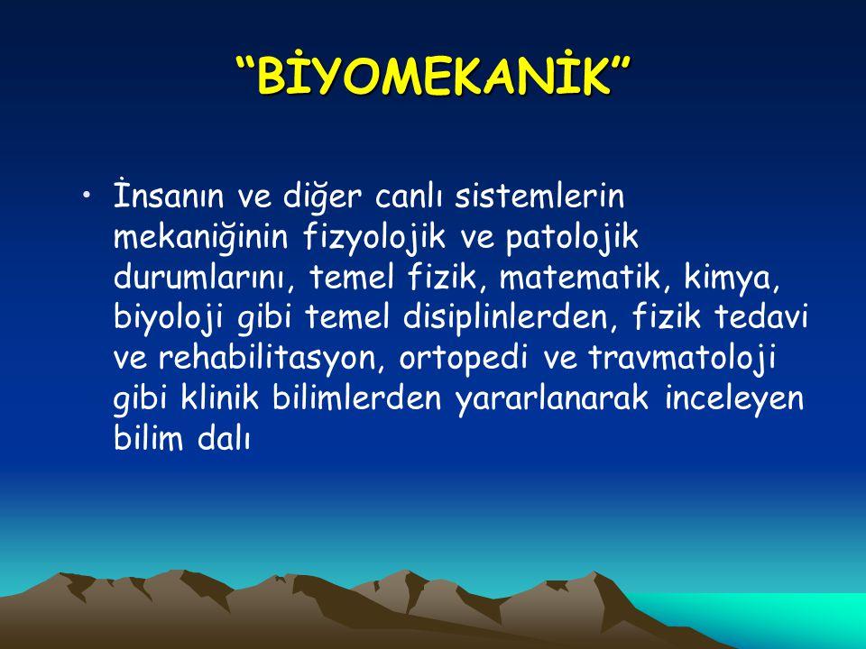 BİYOMEKANİK