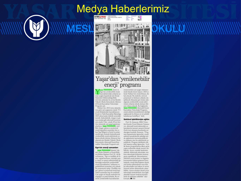 Medya Haberlerimiz