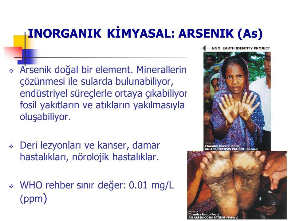 INORGANIK KİMYASAL: ARSENIK (As)