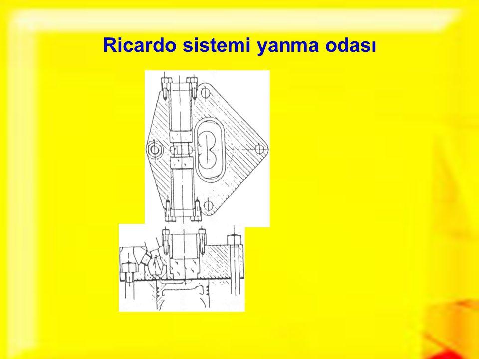 Ricardo sistemi yanma odası