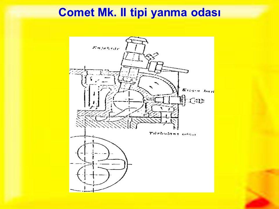Comet Mk. II tipi yanma odası