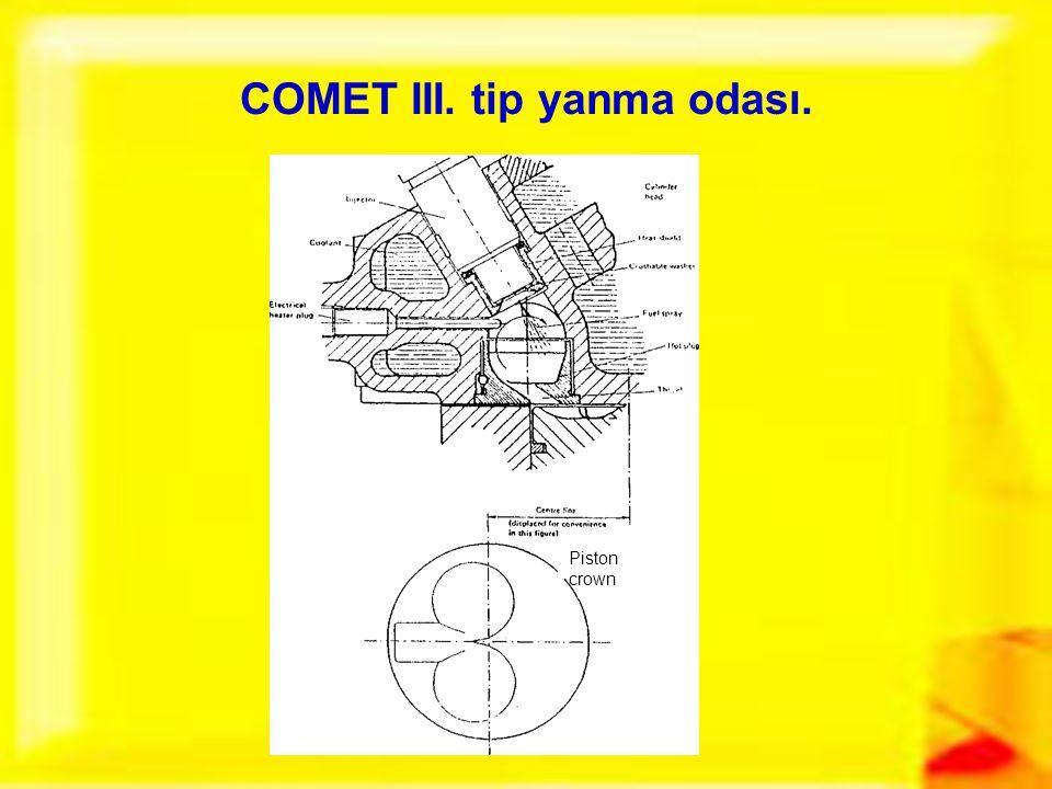COMET III. tip yanma odası.