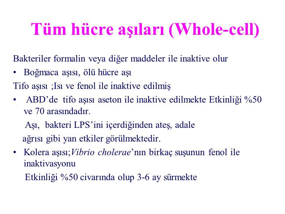 Tüm hücre aşıları (Whole-cell)