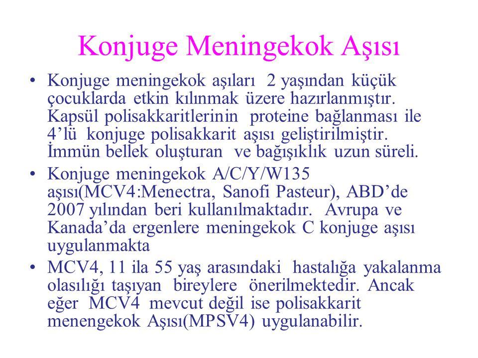 Konjuge Meningekok Aşısı