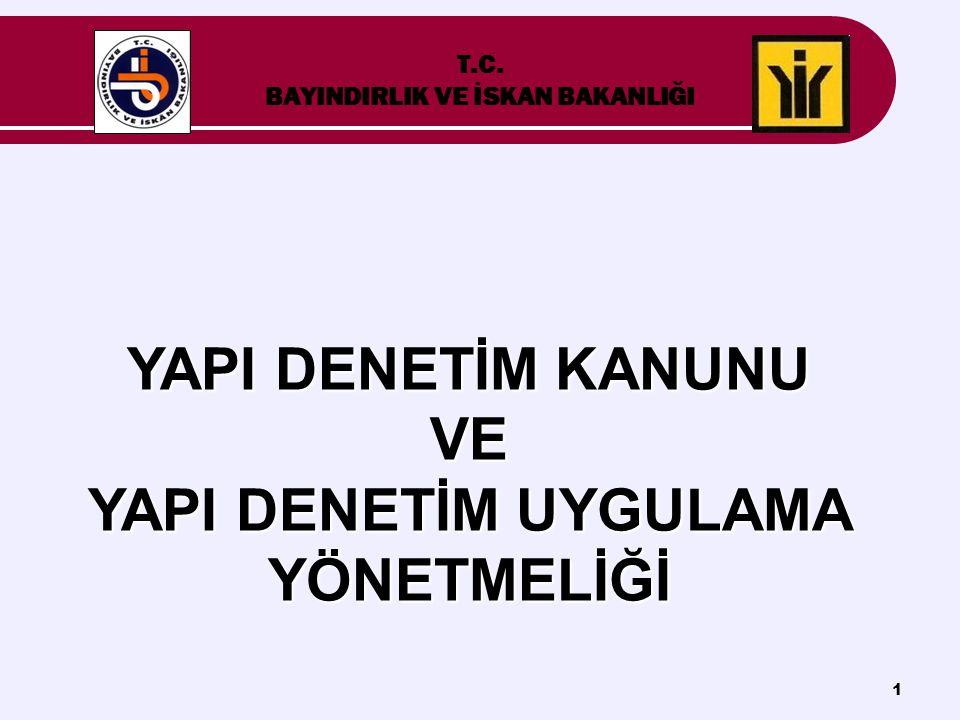 T.C. BAYINDIRLIK VE İSKAN BAKANLIĞI
