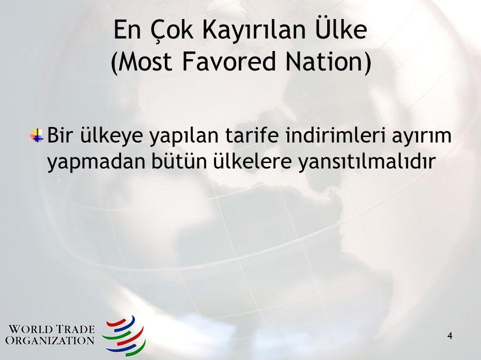 En Çok Kayırılan Ülke (Most Favored Nation)