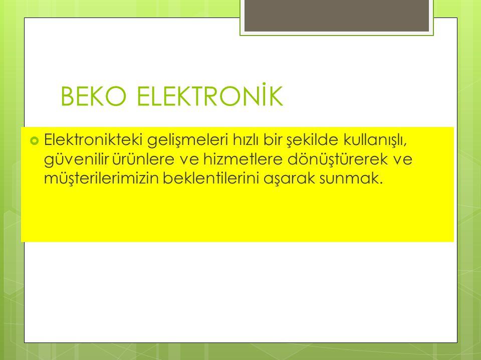 BEKO ELEKTRONİK