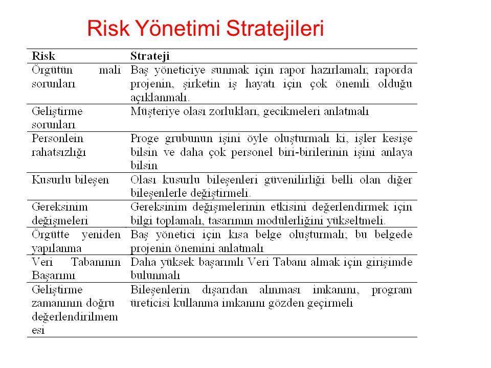 Risk Yönetimi Stratejileri