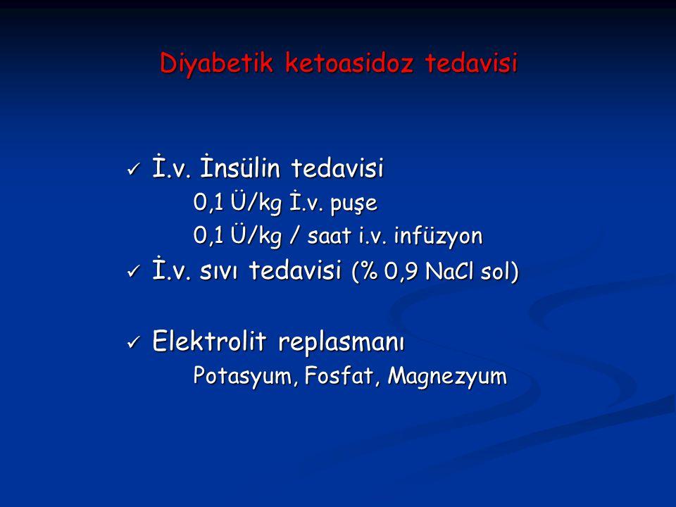 Diyabetik ketoasidoz tedavisi