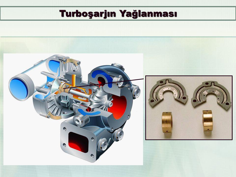 Turboşarjın Yağlanması