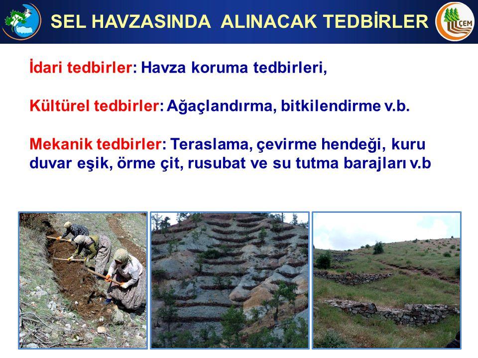 SEL HAVZASINDA ALINACAK TEDBİRLER