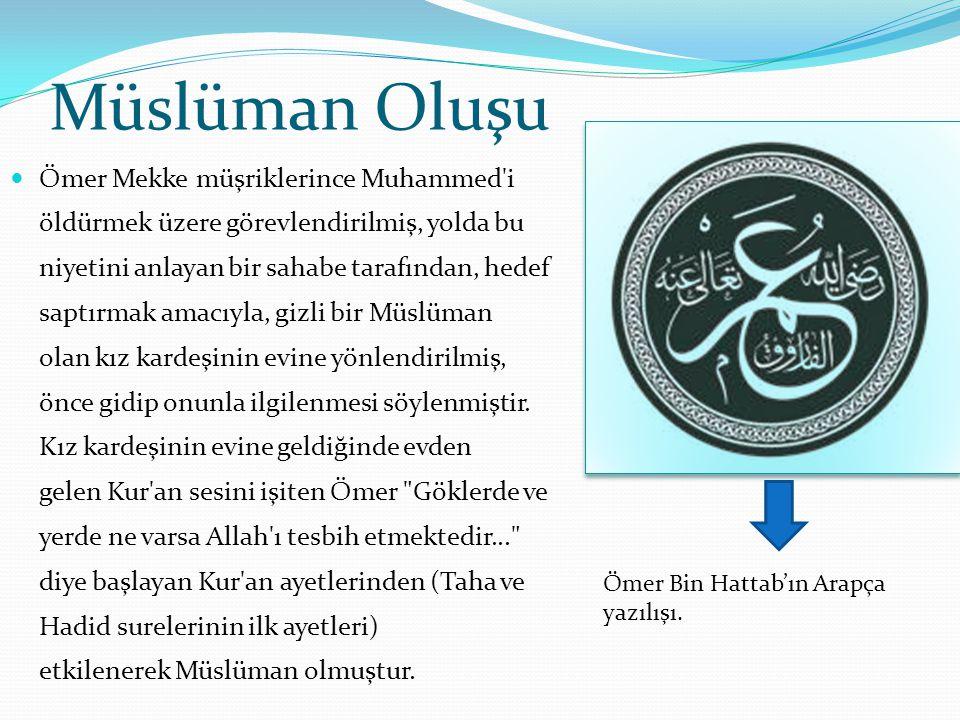 Müslüman Oluşu