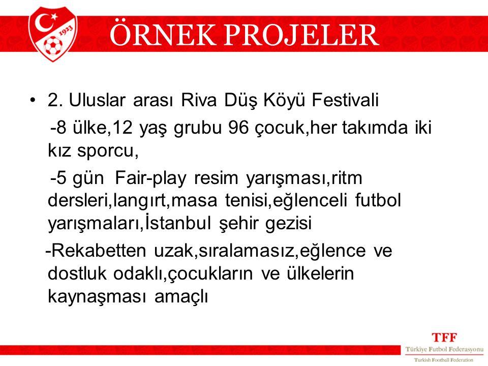 ÖRNEK PROJELER 2. Uluslar arası Riva Düş Köyü Festivali