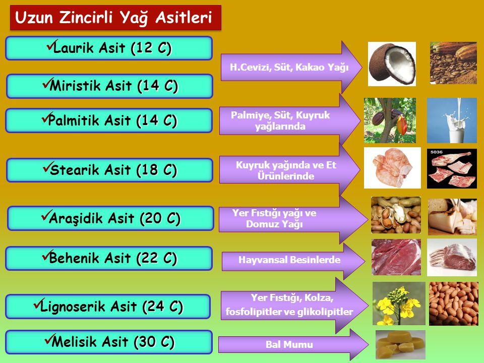 Kuyruk yağında ve Et Ürünlerinde