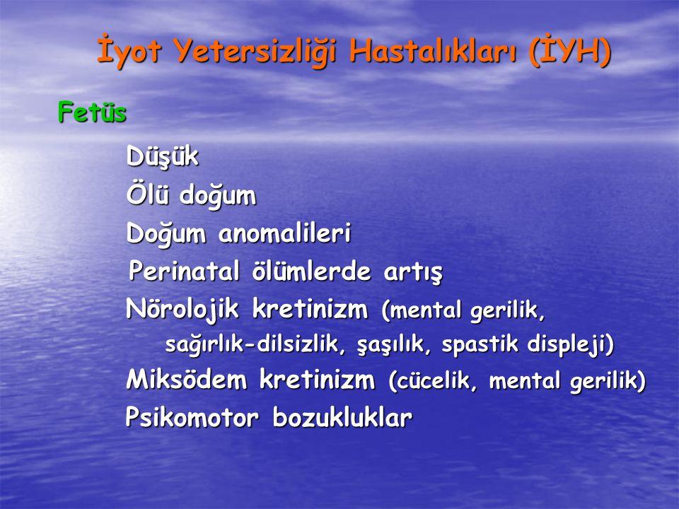 İyot Yetersizliği Hastalıkları (İYH)
