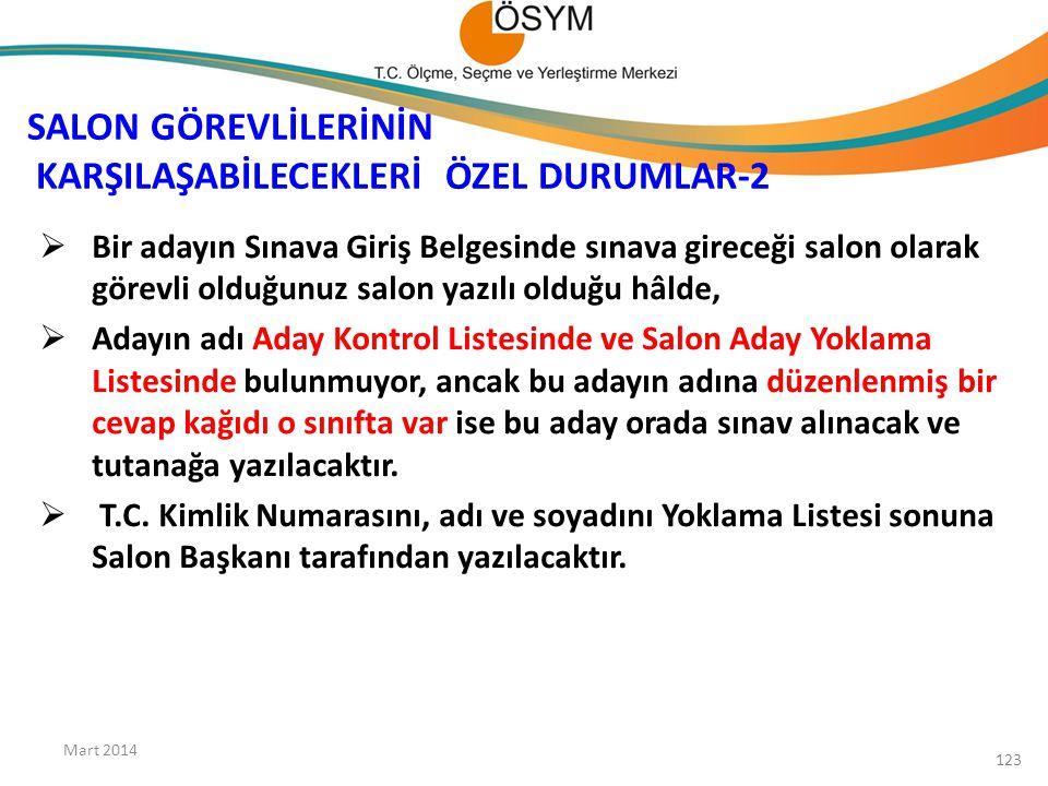 SALON GÖREVLİLERİNİN KARŞILAŞABİLECEKLERİ ÖZEL DURUMLAR-2