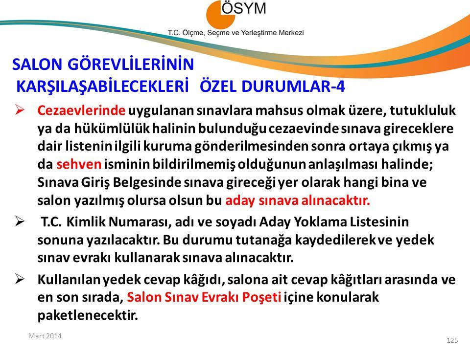 SALON GÖREVLİLERİNİN KARŞILAŞABİLECEKLERİ ÖZEL DURUMLAR-4