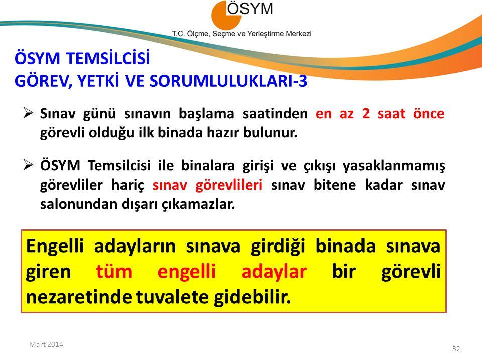 ÖSYM TEMSİLCİSİ GÖREV, YETKİ VE SORUMLULUKLARI-3