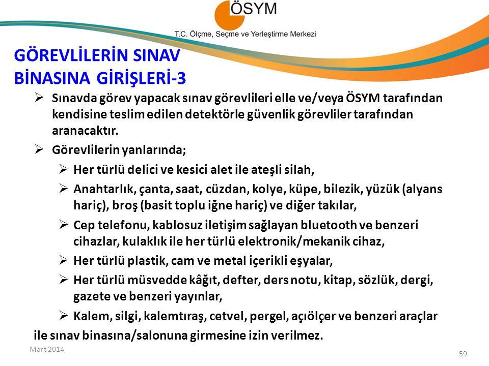 GÖREVLİLERİN SINAV BİNASINA GİRİŞLERİ-3