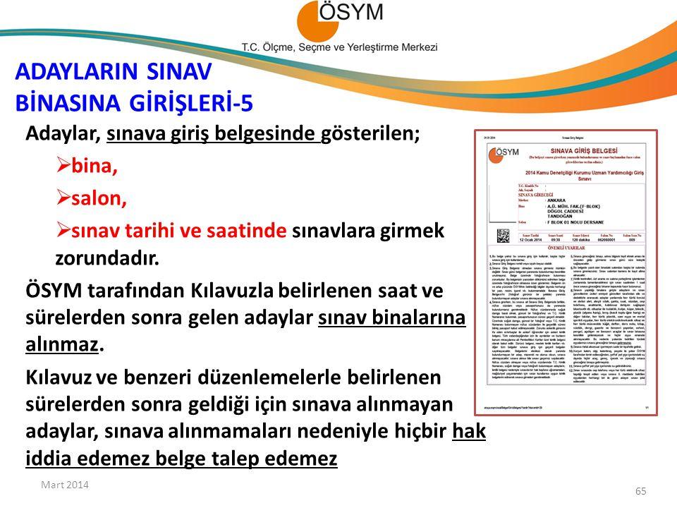 ADAYLARIN SINAV BİNASINA GİRİŞLERİ-5