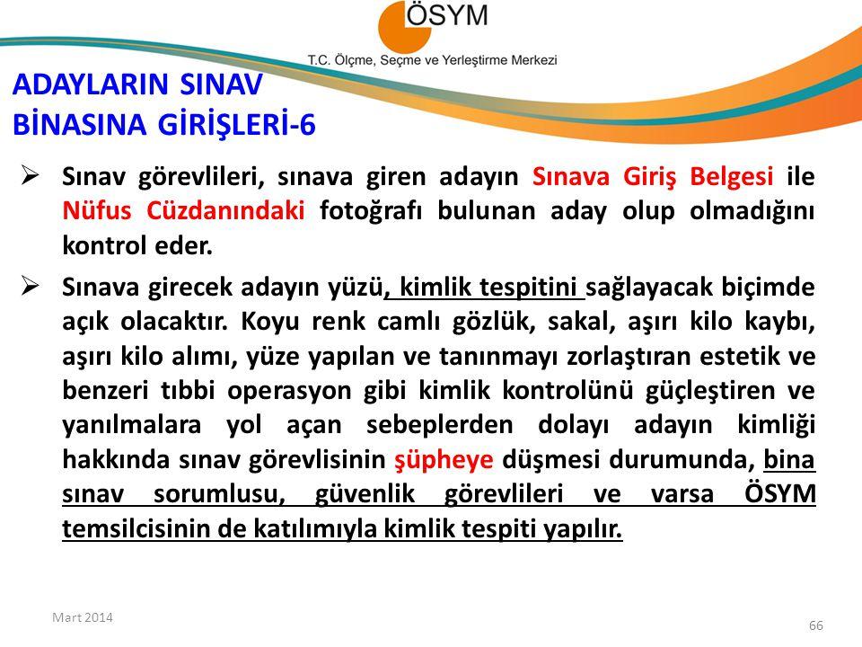 ADAYLARIN SINAV BİNASINA GİRİŞLERİ-6