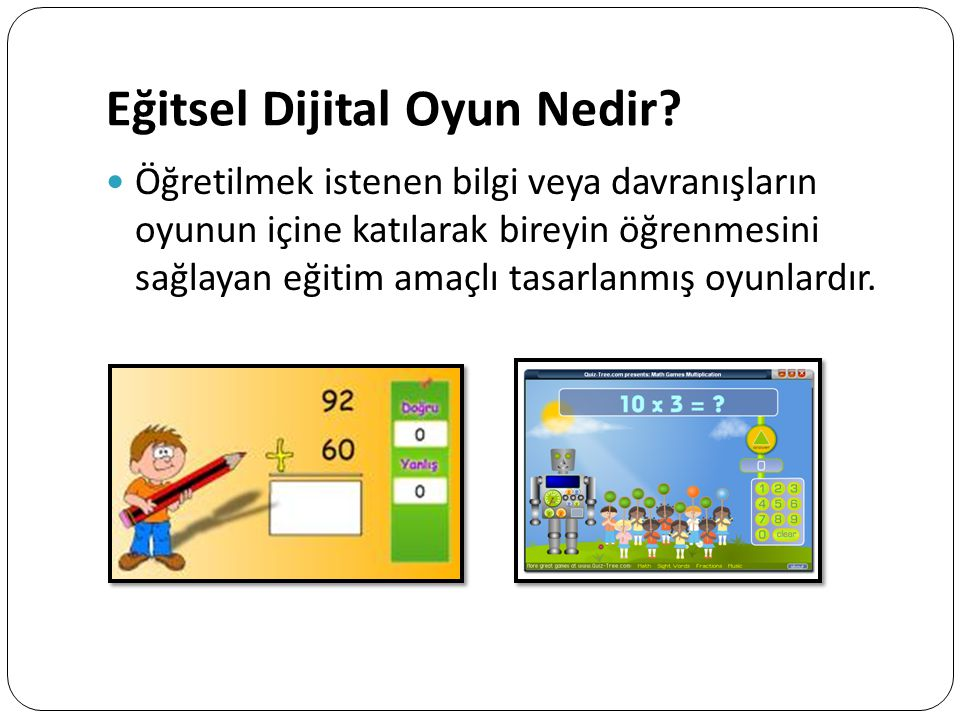 Eğitsel Dijital Oyun Nedir