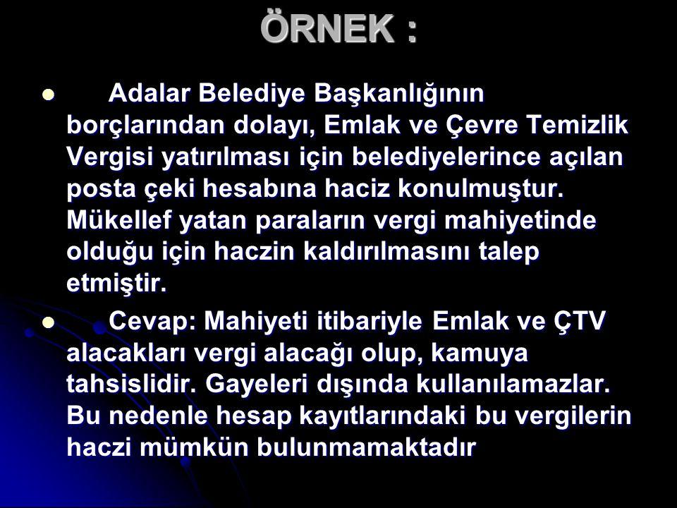 ÖRNEK :