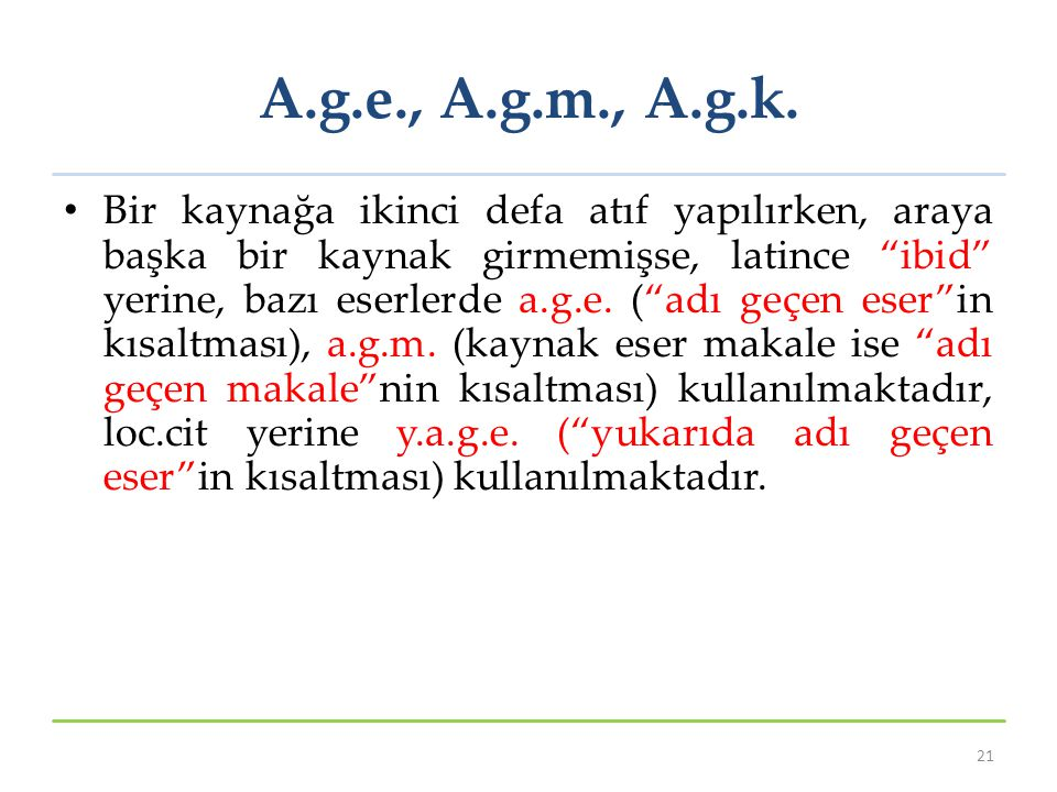 A.g.e., A.g.m., A.g.k.