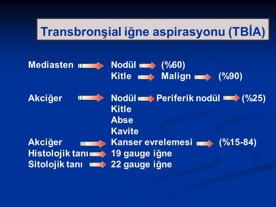 Transbronşial iğne aspirasyonu (TBİA)