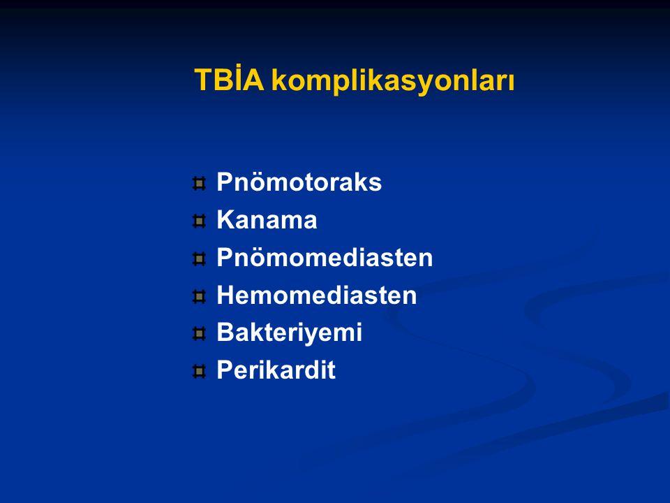 TBİA komplikasyonları