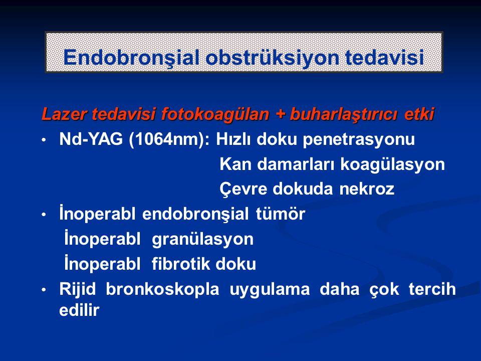 Endobronşial obstrüksiyon tedavisi