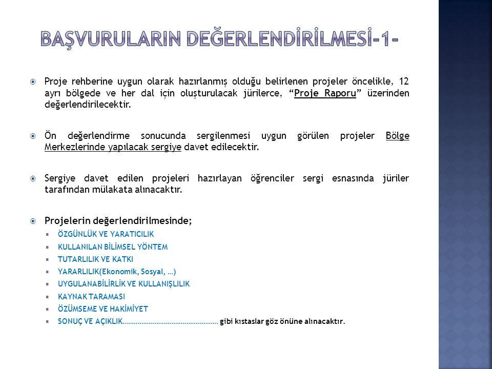 BAŞVURULARIN DEĞERLENDİRİLMESİ-1-