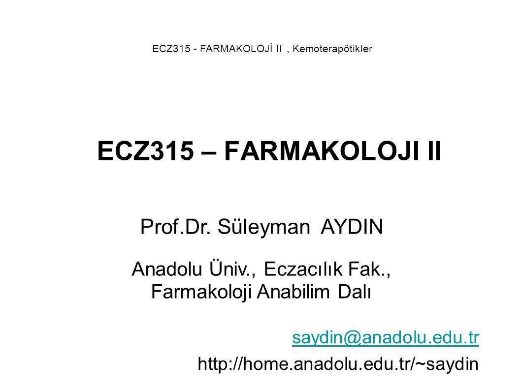 saydin@anadolu.edu.tr http://home.anadolu.edu.tr/~saydin
