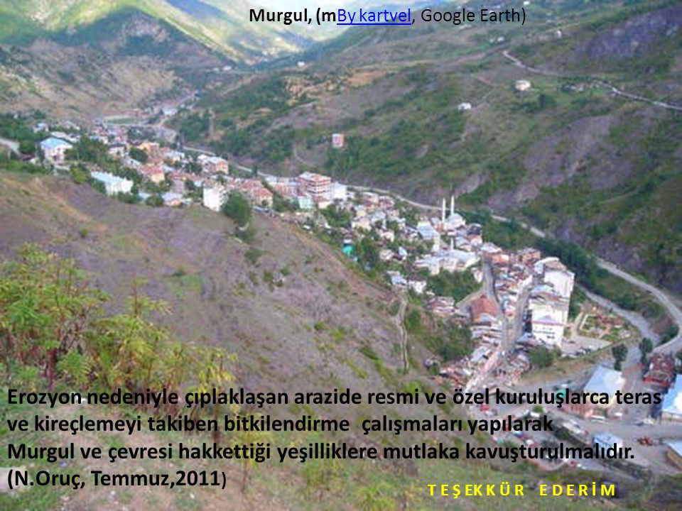 Murgul, (mBy kartvel, Google Earth)