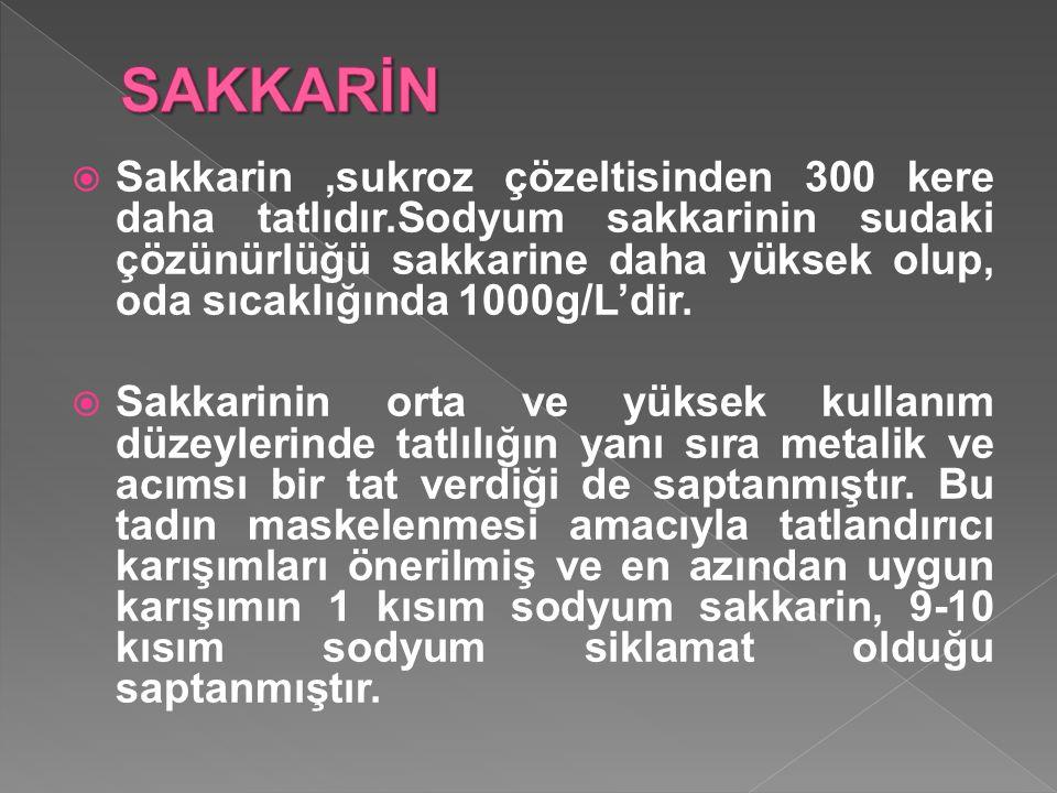 SAKKARİN