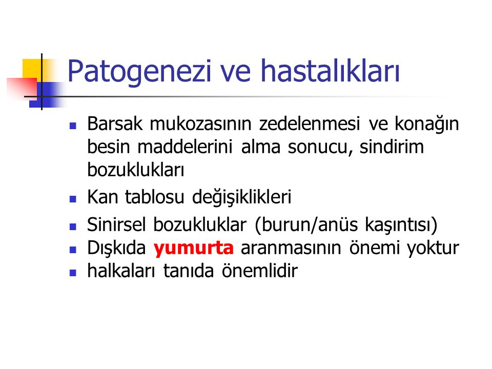 Patogenezi ve hastalıkları